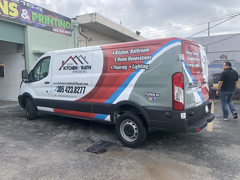 Commercial wrap Nissan NV 1500, 2500, 3500
