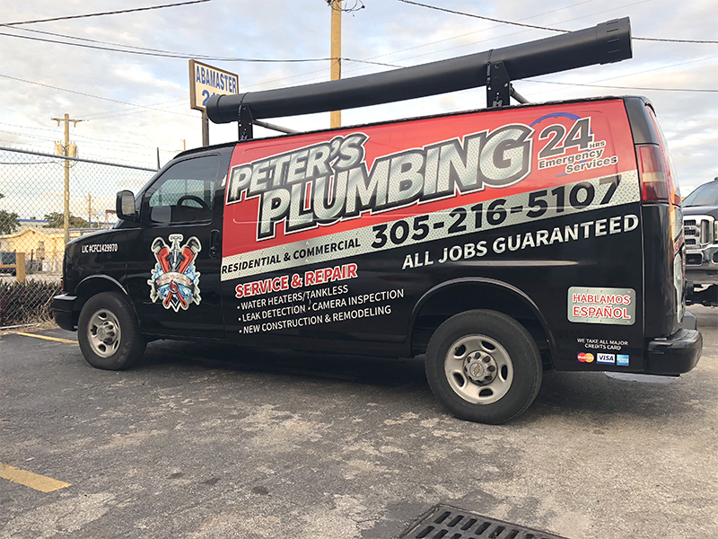 Plumbing Van Wrappingr