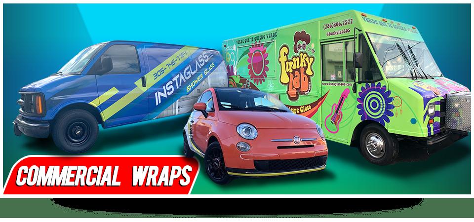 Car Wrapping Miami, Vehicle Wraps Miami, Business Signs Miami, Box