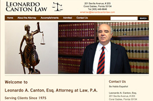 Leonardo Canton Law