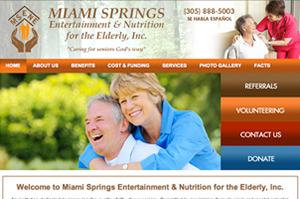 Miami Springs Entertainment & Nutrition for elderly, Inc