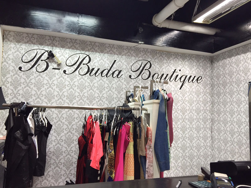 B Buda Boutique Wallpaper