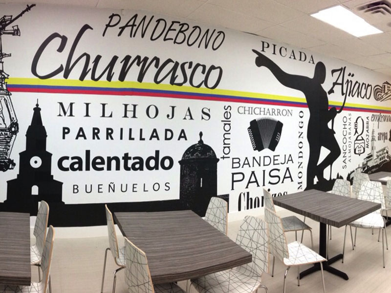 Wall Graphics Miami