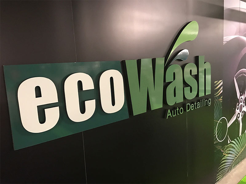 eco wash pvc signs