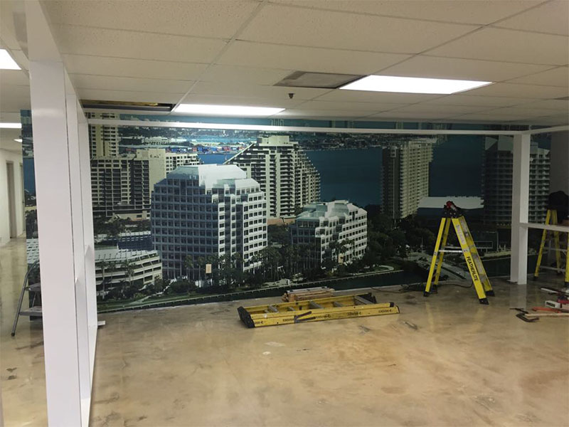 Wall Graphics Miami, Mural Wrap Miami