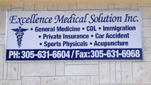 miami signs medical solution