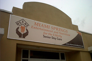 Miami Spring Entertainment and Nutrition for the Elderly