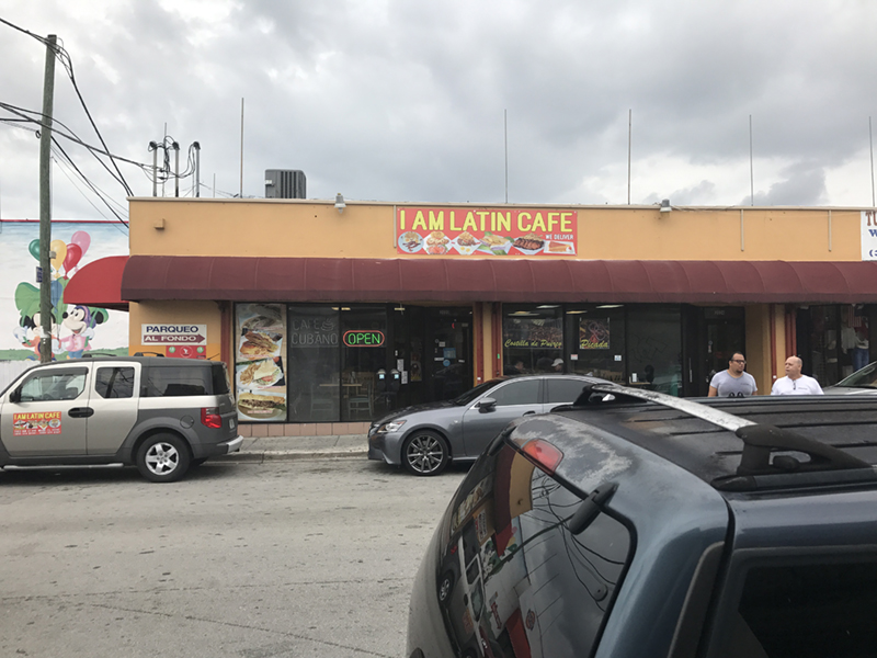 Im Latin Cafe - Aluminum Composite Sign