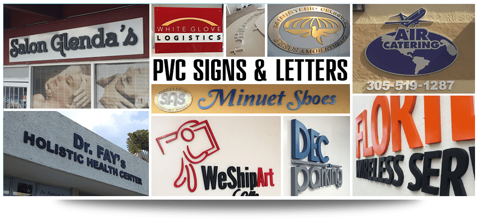 Cnc Cut Services Miami, PVC Letters Miami, PVC signs & letters, Wall Graphics