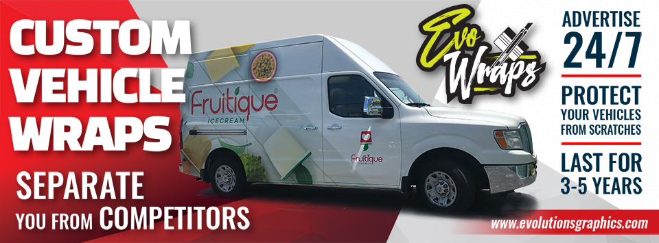 custom vehicle wraps, separate you from competitors, advertise 24/7, protect your vehicles from scratches