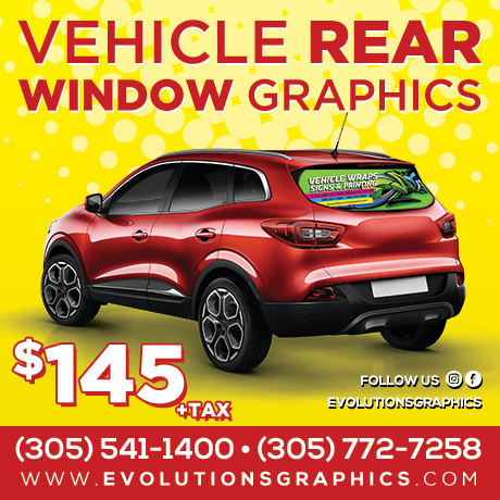 special vehicle rear window graphics $145