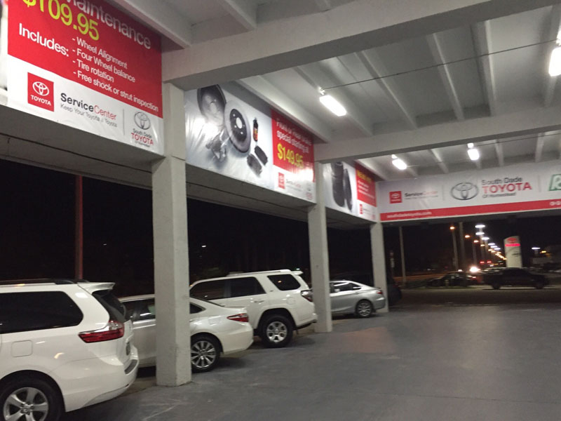 toyota large format banner