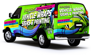 Trailer Vinyl Wrap, Fleet & Vehicle Graphics, Truck Lettering & Signs, evolutions graphics miami, Car & Vehicle Wraps, Dodge Sprinter van vinyl vehicle wraps
