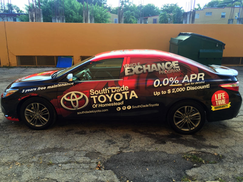 South Dade Toyota of Homestead - Camry Full Color