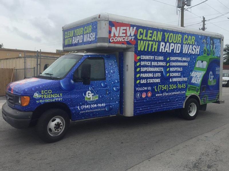Custom writing companies vehicle