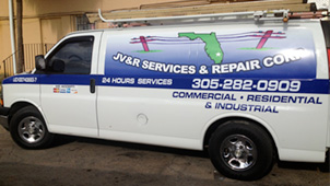 jv&R services & repair corp Half Wrap